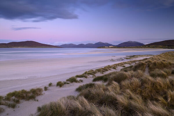 Seilebost beach on the south side of Luskentyre Bay, Isle of Harris, Outer Hebrides