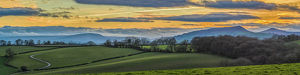 phil savoie/countryside landscape monmouthshire wales uk
