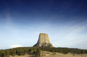 latest highlights/highlights 2009/devils tower national monument east wyoming usa