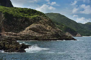 wild wonders china/sai kung archipelago located area hong kong unesco