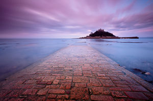 tranquility/scenic view st michaels mount causeway early