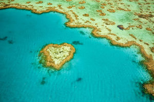 australia/whitsunday islands aerial view great barrier